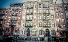 Physical Graffiti - The building featured on the cover of the Led Zeppelin album
