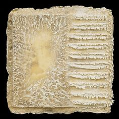Michelle Belto | Through Mist and Snow | encaustic on artist made cast paper