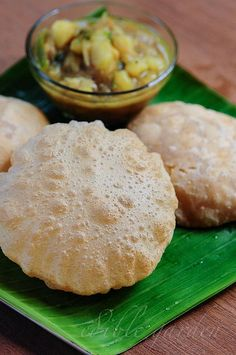 Puri Recipe - How to Make Poori, a Popular South Indian Breakfast Dish