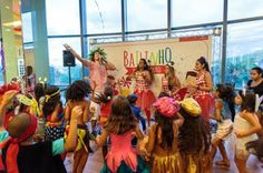 Com samba e oficinas infantis, Plaza Shopping Niterói promove Bailinho da Viradouro   Jornalwebdigital