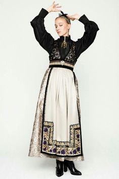 Eva Lie design Folk Costume, Costumes, Scandinavian Fashion, Folk Fashion, European Fashion, Traditional Dresses, Style Inspiration, Fashion Outfits, Stylish