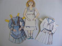 Paper dolls by Shabby Tiger, via Flickr