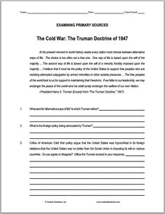 an introduction to the truman doctrine