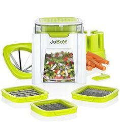 4 in 1 Vegetable Chopper, French fry cutter - Dice, Mince, Slice & Cube…