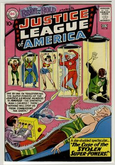 Amazo the Android was introduced in Brave and the Bold #30, June 1960.