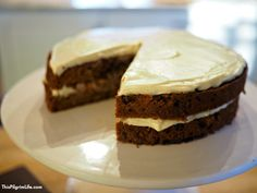 Enjoy a rich, spiced carrot cake with a sweet, creamy frosting, curtesy of the Instant Pot! Plus, it's gluten-free, naturally sweetened, with no butter or oil, so you don't need to feel bad about that second piece!