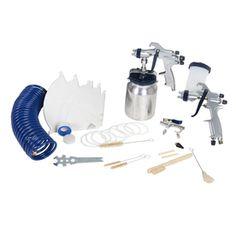 f7da78fff9a Kobalt 45-Piece Spray Gun Kit Air Tools, Garage Shop, Toothbrush Holder,