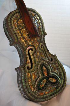 Violin - Shining Star Mosaics
