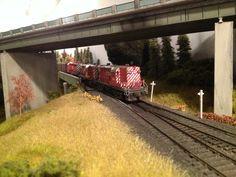 Bob Fallowfield's CP Rail Galt Sub