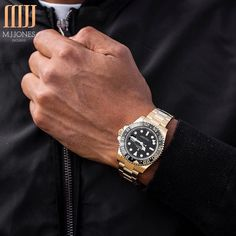 21a495d9a21 When its cold wear  YellowGold The  Rolex  GMTMasterII DM our sales team to