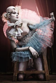 Circus-Inspired Fashion Photography  By Signe Vilstrup