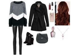winter Outfit | ShopLook Outfit Maker, Date Outfits, Leather Leggings, Winter Outfits, Fall, How To Wear, Fashion, Autumn, Moda