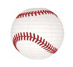 baseball lanterns. tons of ideas for a baseball party