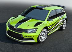 Škoda Fabia Combi Concept, A prototype estate based on the rally version of the Fabia that was shown at the Wörthersee GTi Meet Skoda Fabia, Motorcycle Design, Super Sport, Perth, Cars And Motorcycles, Rally, Cool Cars, Audi, Concept