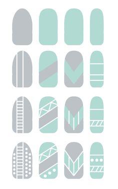Nina Sequins | Blog varnishes and waffle