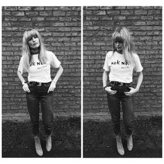 Nok Nok London fan Amy rocking her new tee!