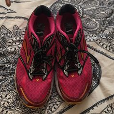 Pink Athletic shoes Love these just have too many shoes. Open to offers Asics Shoes Sneakers