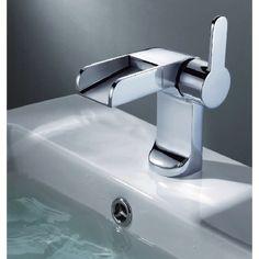 Mitigeur lavabo cascade fontaine Elio - Robinetterie - As de carreaux a4a2e8f12cec