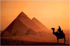 Egypt!! My secret ambition in life is to be an archaeologist, and to do it here..