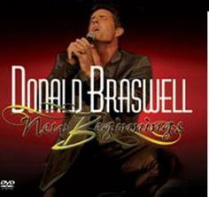 "Album cover for Donald Braswell II's PBS DVD ""New Beginnings""."