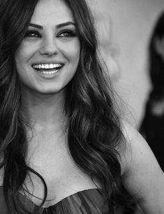Mila Kunis- she is my girl crush.  I could repin all her pics, she is stunning! Pretty People, Beautiful People, Most Beautiful, Absolutely Gorgeous, Hello Gorgeous, Beautiful Smile, Big People, Classy People, Gorgeous Eyes