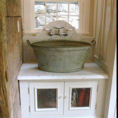 Love the washbasin sink  http://www.katyelliott.com/beta/wp-content/uploads/2012/01/wash-bucket-sink-with-wall-mount-faucet.jpg