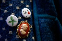 Buttons on a jacket in an office at the Tregothnan Estate, Cornwall. Referencing the stereotypical English love of a good brew is a big part of Tregothnan's marketing strategy. (Stefan Wermuth/Reuters)