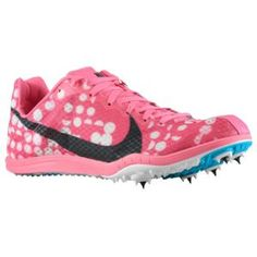 sale retailer 3c694 073bf Nike Zoom - Women s - Track   Field - Shoes - Digital Pink Black Neo  Turquoise White I want these!
