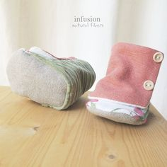 Organic Baby Boots.