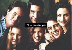 Monica, Phoebe, Rachel, Joey, Chandler and Ross