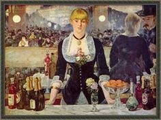 에두아르 마네 A Bar at the Folies-Bergeres(폴리 베르제르의 술집)