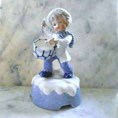Little+Drummer+Boy+MUSIC+BOX+Ceramic+Figurine+1960s+by+HamiltonBay