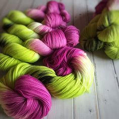 Special Delivery, fingering weight hand dyed yarn