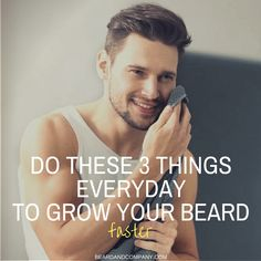Beard and Company's beard growth products are in growing beards thicker, fuller, and faster naturally without using minoxidil. Pro beard growth tips and more. Vitamins For Beard Growth, Beard Growth Tips, Beard Tips, Latest Beard Styles, Hair And Beard Styles, How To Get Beard, Growing A Full Beard, Grow A Beard, Beard Shampoo And Conditioner
