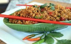 DDD Ep. #21 - Vegan Spicy Thai Red Curry & Coconut Cauliflower Rice