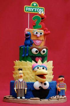 ..sesame street, Elmo, big bird, Oscar, Cookie Monster, Ernie and Bert, Grover