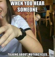 We all know that someone  #motofun #moto #motorcyclesofinstagram #motorcycle #humor #bikelife #bikes #biker #lovetoride #twowheelpassion