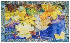 Joseph Raffael, Autumn Leaving, 2010/11, watercolor on paper, 49 1/2 x 81 3/4 inches