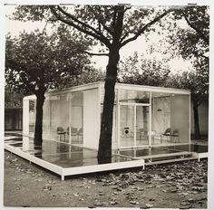 Braun Pavillon  Hans G. Conrad, 1959