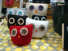 Totally could do it yourself owl pillow