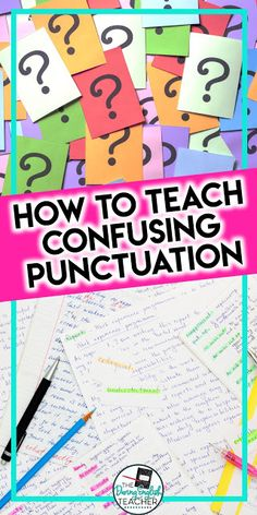 The Most Confusing Punctuation and How to Use Them
