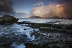 rainbow at elgol by freddie ridge picture on VisualizeUs