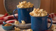 Barbecue popcorn seasoning mix