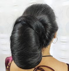 Image may contain: one or more people and closeup - New Site Long Silky Hair, Long Black Hair, Thick Hair, Beautiful Braids, Beautiful Long Hair, Amazing Hair, Bun Hairstyles For Long Hair, Braids For Long Hair, Indian Long Hair Braid