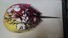 Your place to buy and sell all things handmade Crab Art, Horseshoe Crab, Painted Shells, Blossoms, Sea Shells, Diy Crafts, Hand Painted, Etsy Shop, Crabs