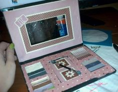How to make DVD Case Makeup Palette - DIY Craft Project from Craftbits.com