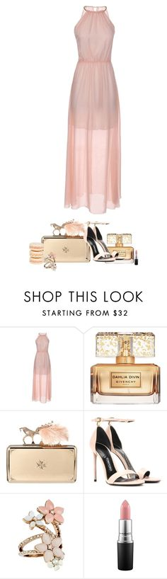 """""""Party"""" by stevie-pumpkin ❤ liked on Polyvore featuring Givenchy, Alexander McQueen, Tom Ford, Mikimoto, Accessorize and MAC Cosmetics"""