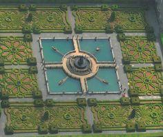 the gardens of the Villa Lante. Image courtesy of Il Pegaso Bookshop, in Bagnaia.