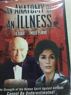 An Anatomy Of An Illness (1984) (DVD, 2002) Ed Asner