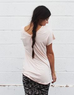 Not your average tee. This butter smooth and breathable shirt feels unbelievable. $25
